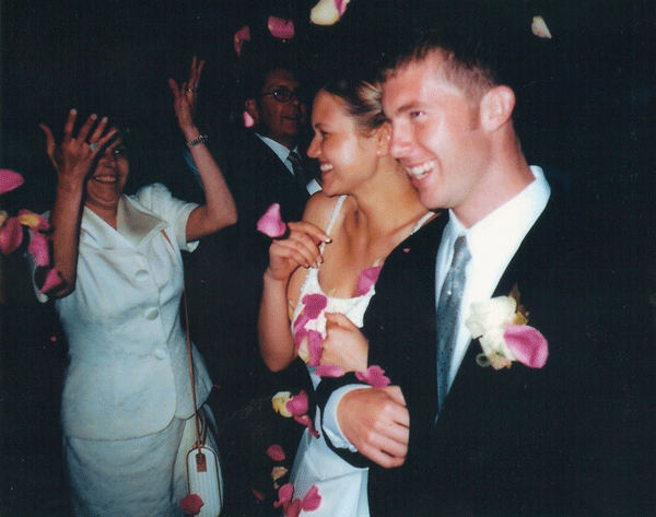 My adolescent marriage {on my anniversary}