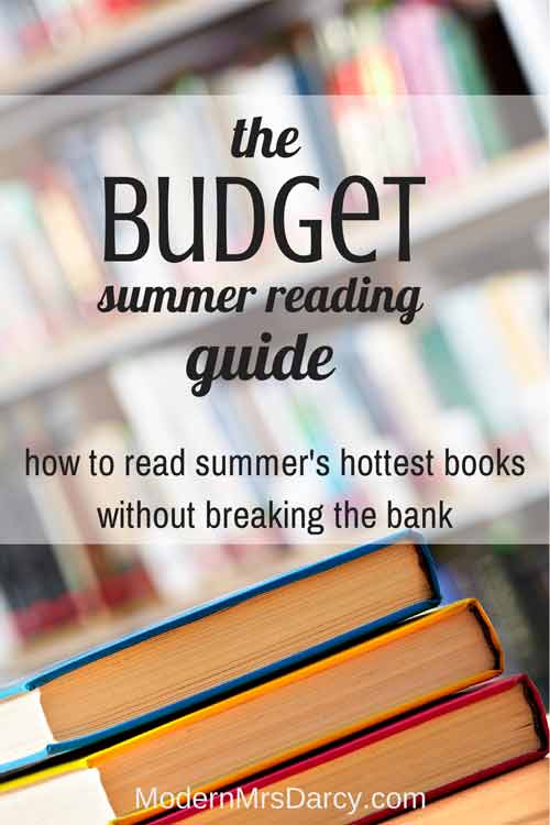 The budget summer reading guide
