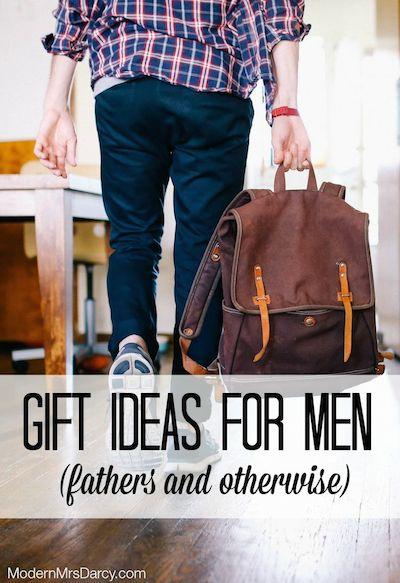 Gift ideas for men | Modern Mrs Darcy