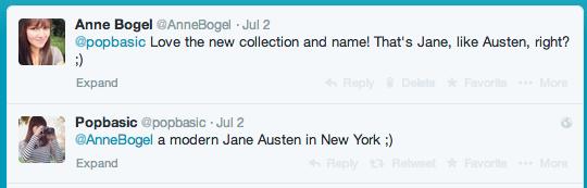 Jane, like Austen?