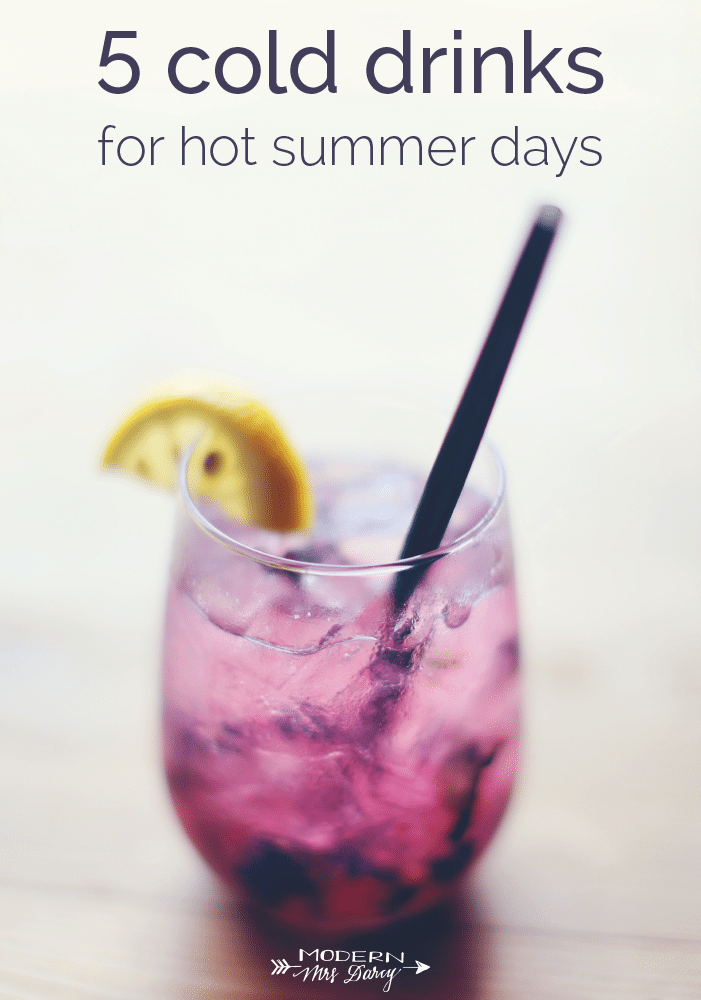 5 cold drinks for hot summer days