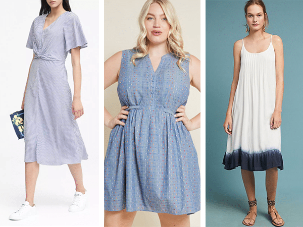 b06180693ef A maxi can be as comfortable as a shorter dress. • Choose natural fabrics  like cotton or linen for coolness (though knit dresses aren t terrible).