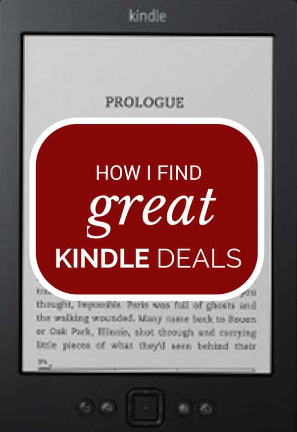 How I find great Kindle deals | Modern Mrs Darcy