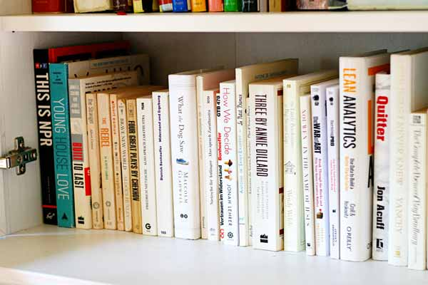 13 Thoughts On Taking The Rainbow Bookshelf Plunge