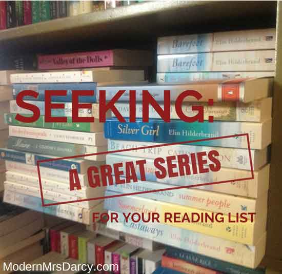 Seeking: a great series. {literary matchmaking}