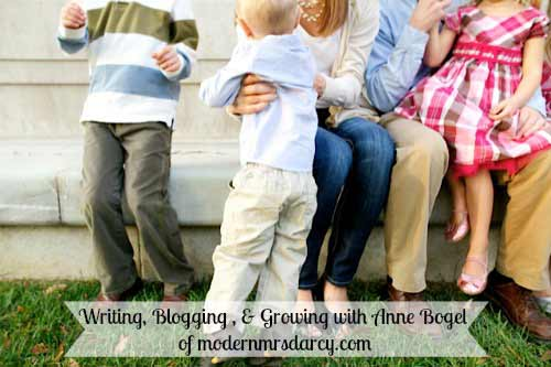 Brilliant Business Moms: on growing an authentic blog with Anne Bogel of Modern Mrs Darcy
