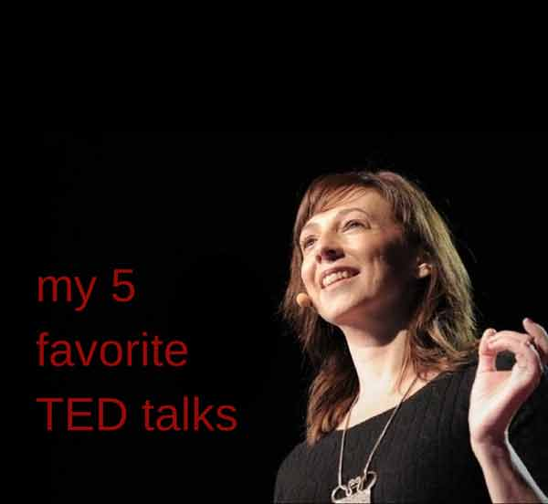 My 5 favorite TED talks | Modern Mrs Darcy