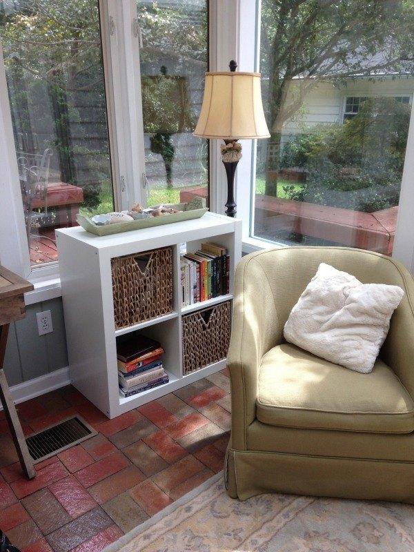 Emily Freeman bookshelves