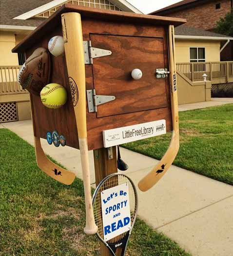 sporty-little-free-library