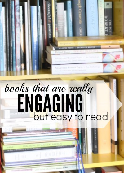 Books that are really engaging, but easy to read. | Modern Mrs Darcy