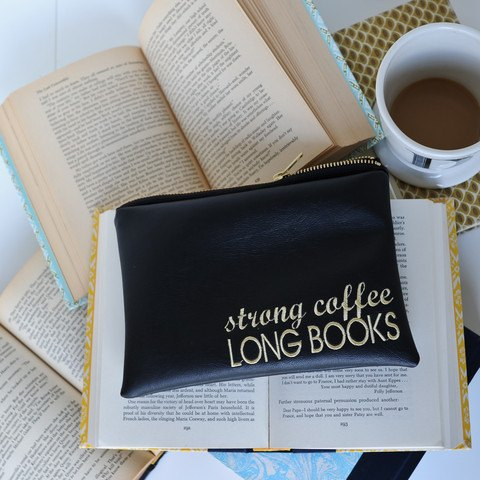 Lucy Jane strong coffee long books