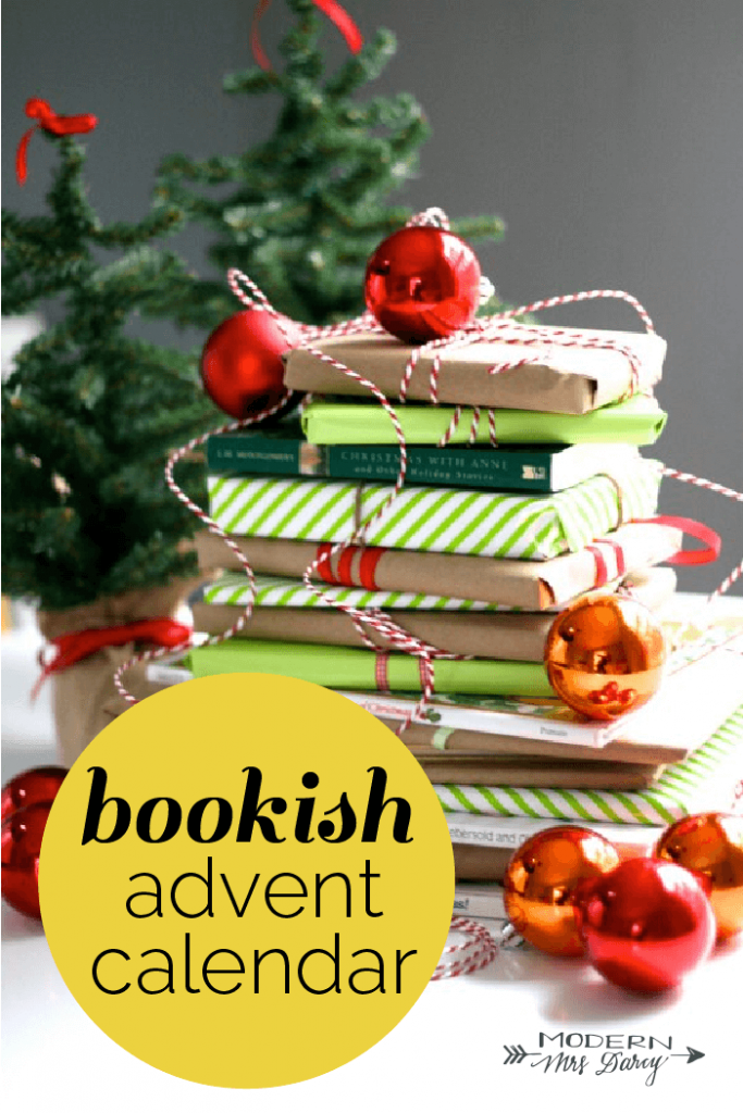 A very bookish Christmas countdown