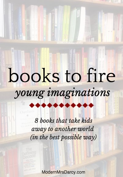 These 8 books will take kids away to another world, in the best possible way.