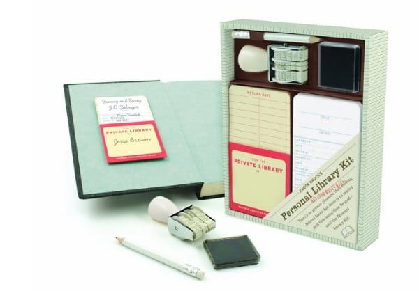 stocking stuffers for book lovers - personal library kit