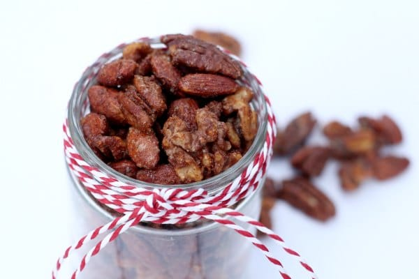 Addictive spiced nuts.