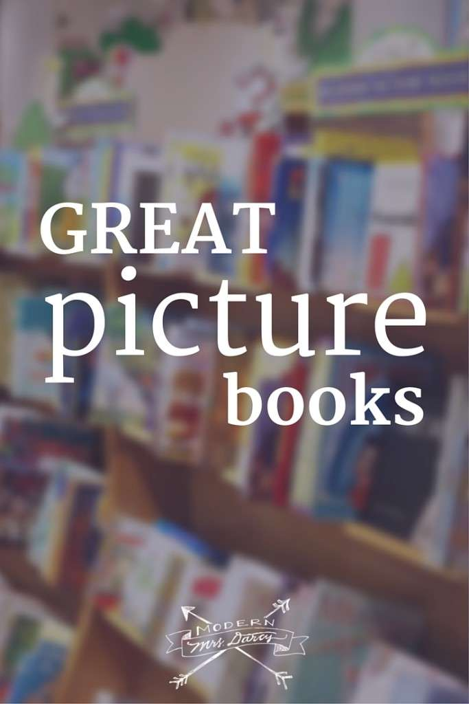 Picture books for children, perfect for Christmas gifts. A Modern Mrs Darcy reading guide.