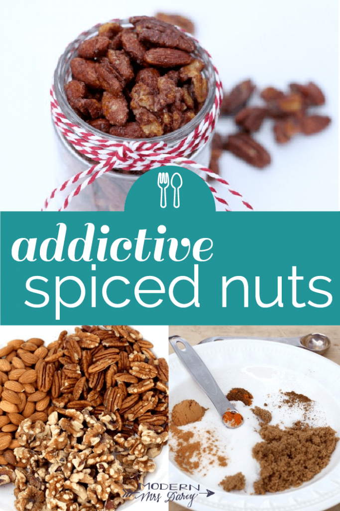 addictive spiced nuts
