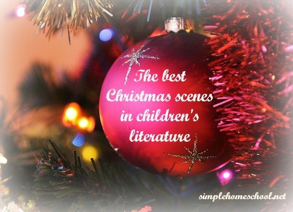 the best christmas scenes in childrens literature