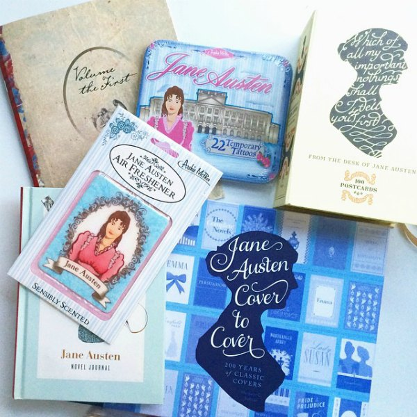 Gift guide for the Jane Austen fan.