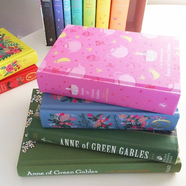 One can never have too many copies of Anne of Green Gables.
