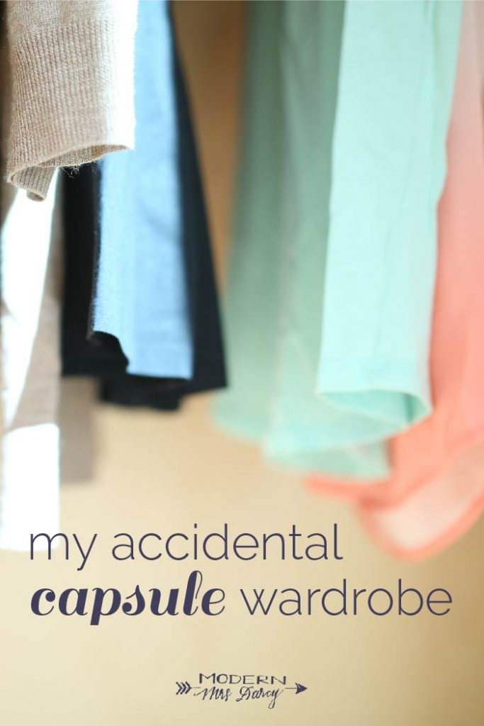 My accidental capsule wardrobe | Modern Mrs. Darcy