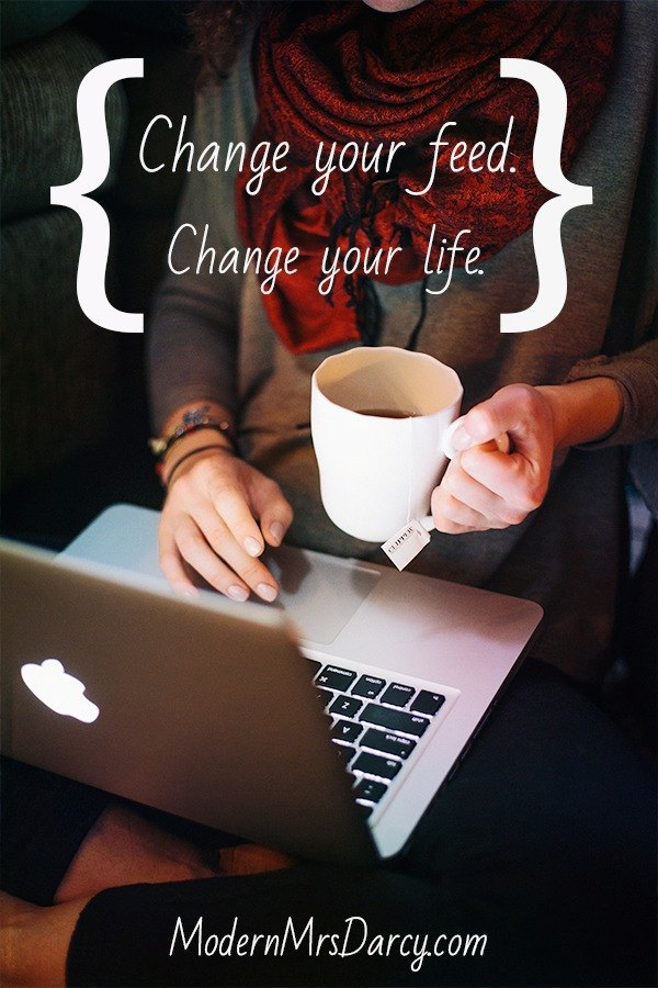 Change your feed reader, change your life. How to use a feed reader (like Bloglovin' or Feedly) as an inspirational tool that will help you keep your New Year's resolutions. An easy and free way to stay motivated all year.