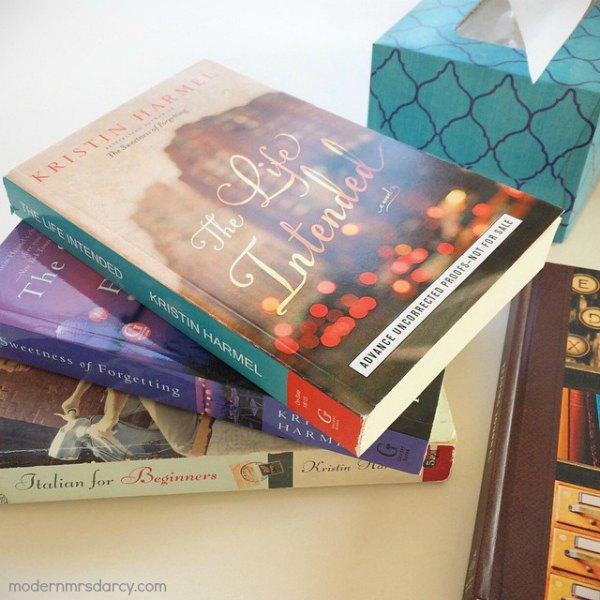 Kristin Harmel books - a current favorite