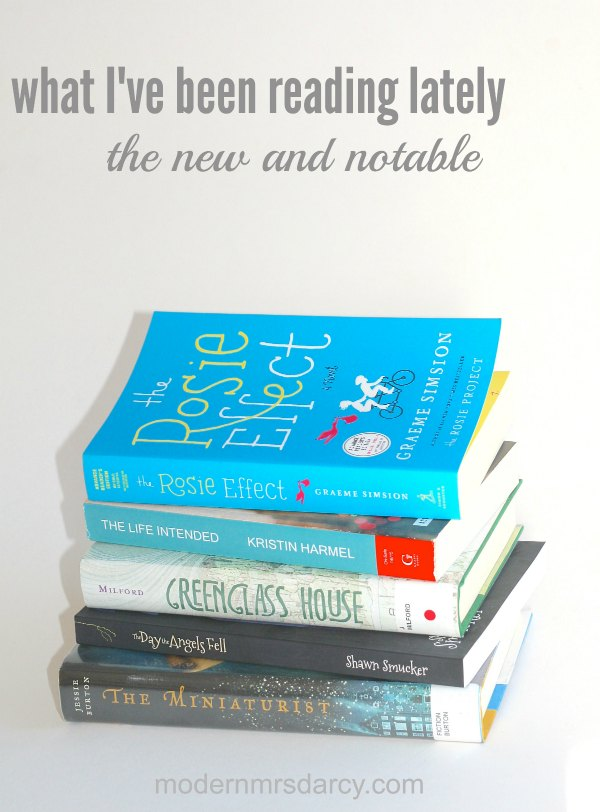 What I've been reading lately: new and notable books that are getting tons of buzz.