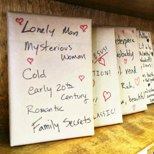 I went on a blind date with a book.
