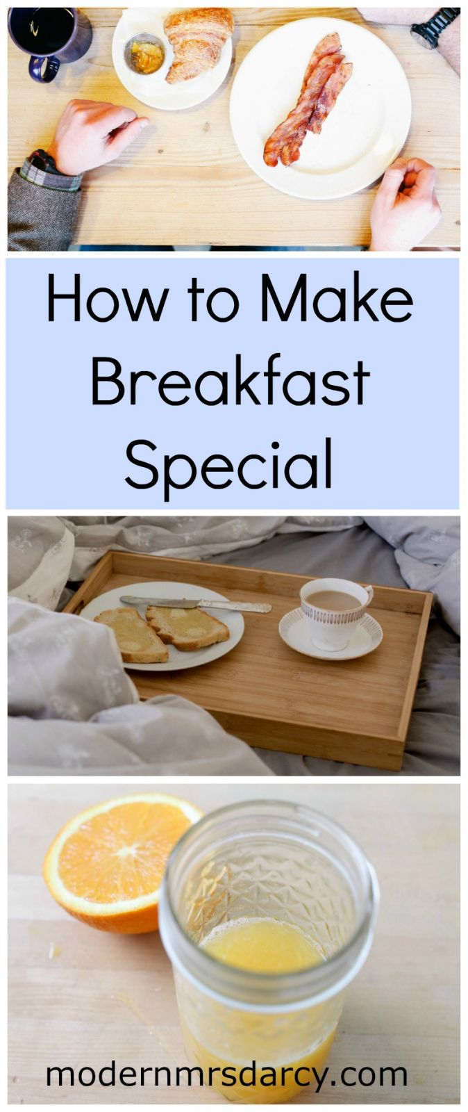 How to Make Breakfast Special