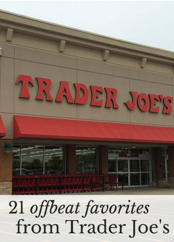 21 offbeat favorites to buy at Trader Joe's