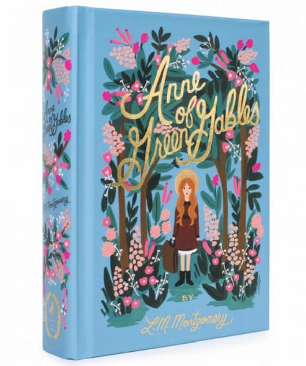 Beautiful editions of Anne of Green Gables.