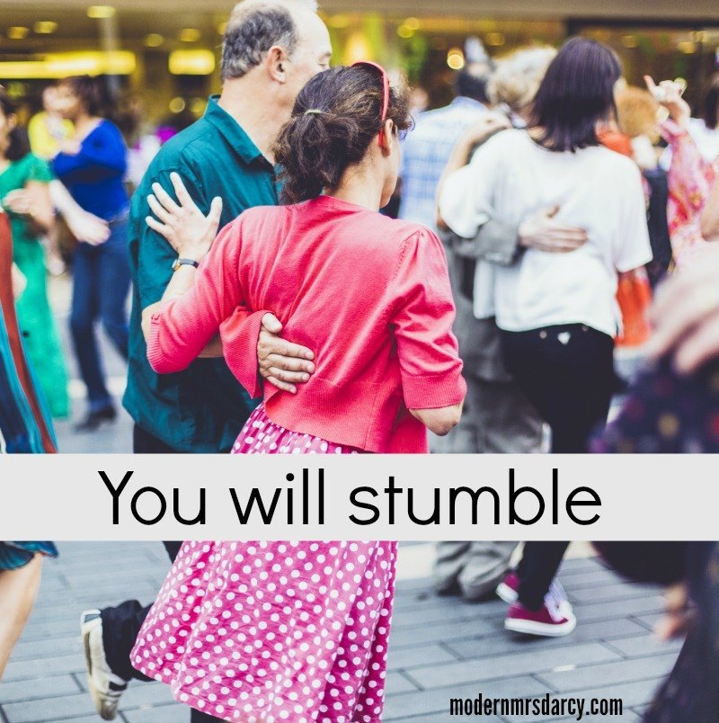 You will stumble