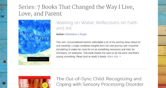 MMD redesign book posts
