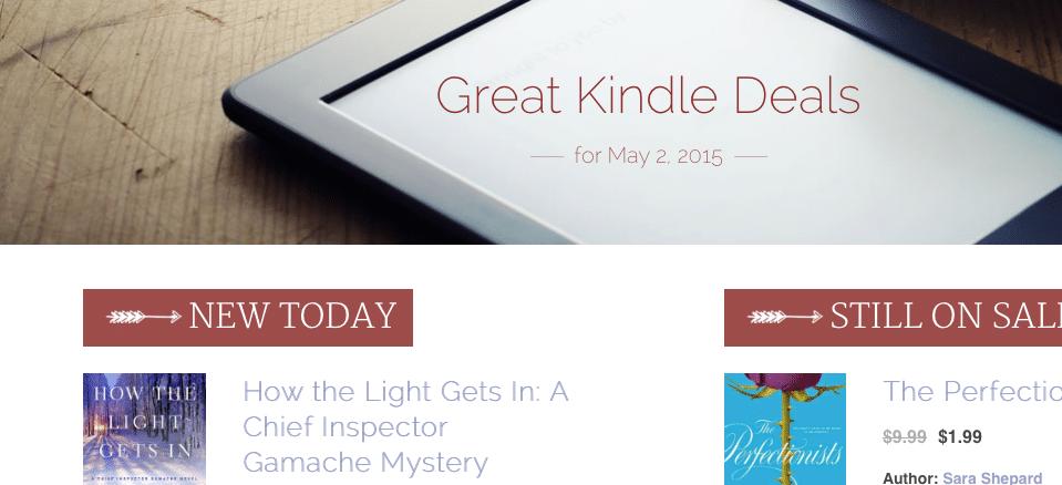 MMD redesign Kindle deals