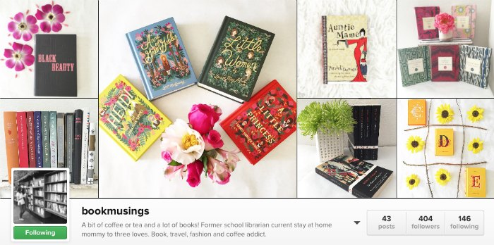 instagram bookmusings