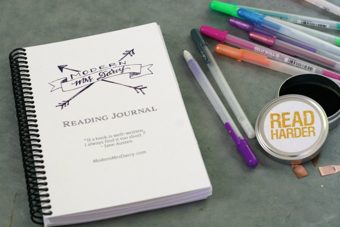 The MMD printable reading journal.