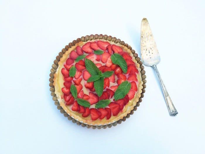strawberry tart Sarah