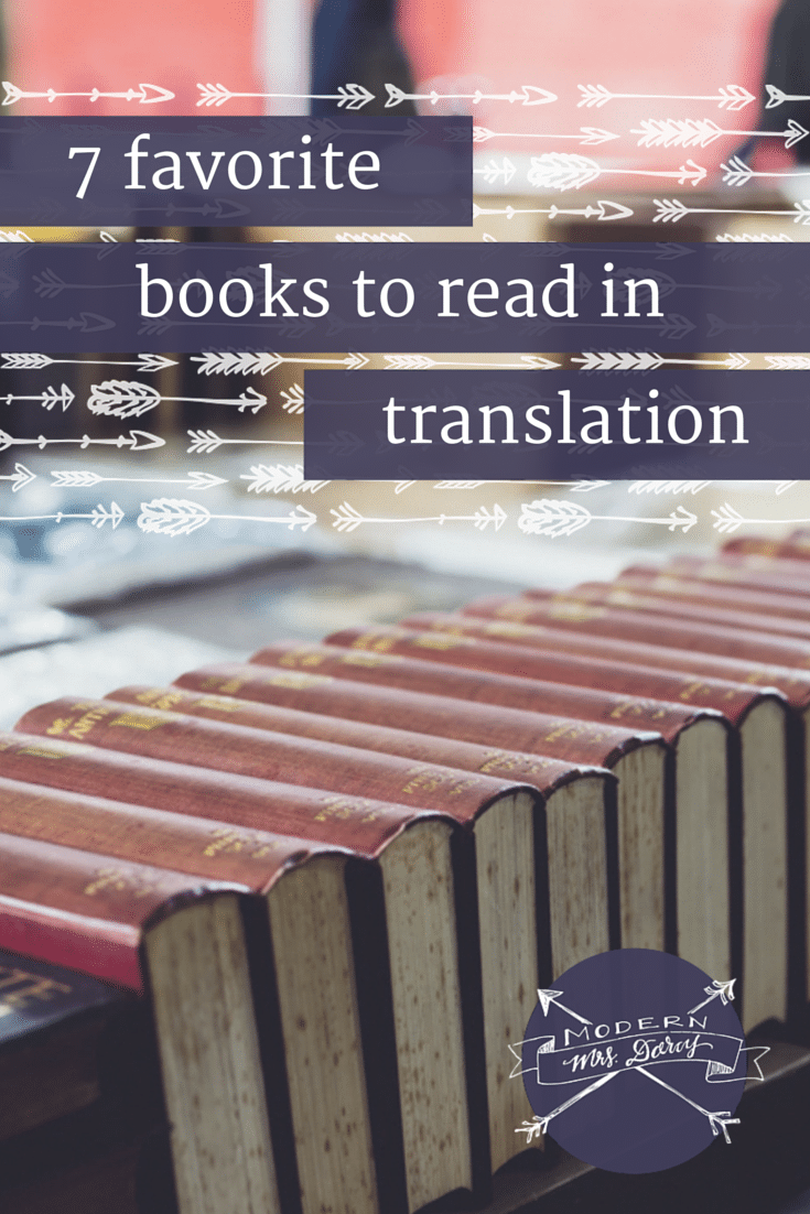 7 books to read in translation
