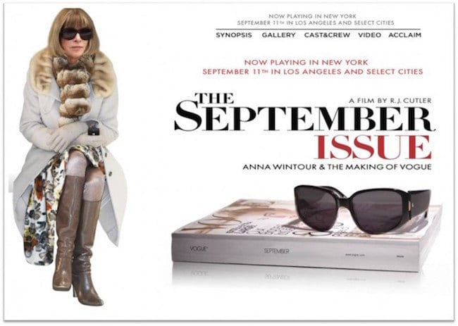 Everything I need to know about planning my life I learned from 'The September Issue.'