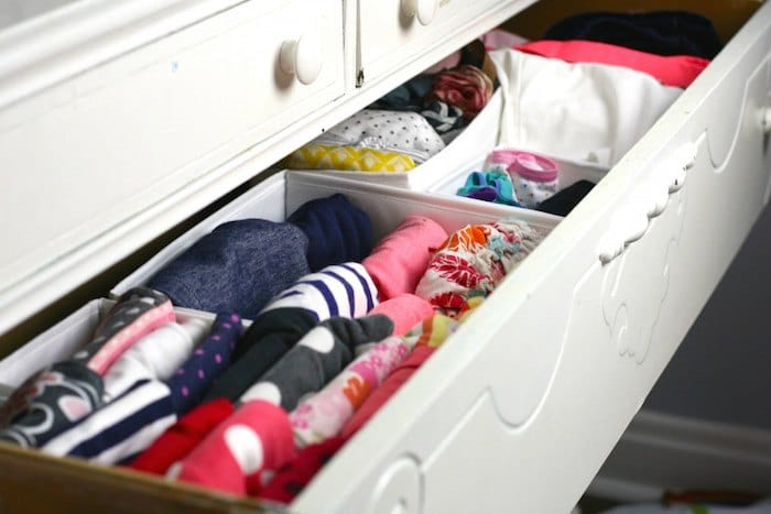 konmari drawers for kids