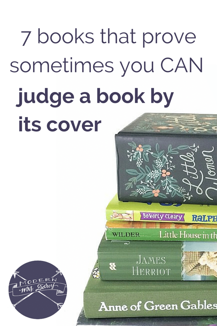 7 books that prove sometimes you CAN judge