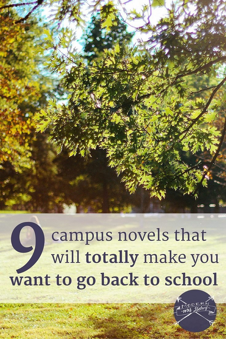 Cozy up with a campus-inspired novel this for back-to-school season. These picks will make you itching to register for classes, again.