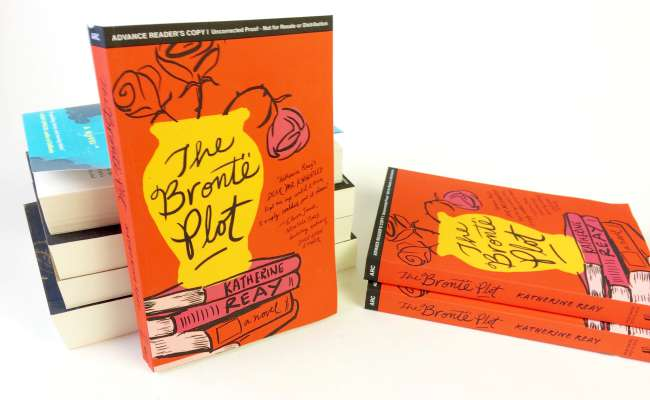 Win a copy of The Brontë Plot two months before publication date!