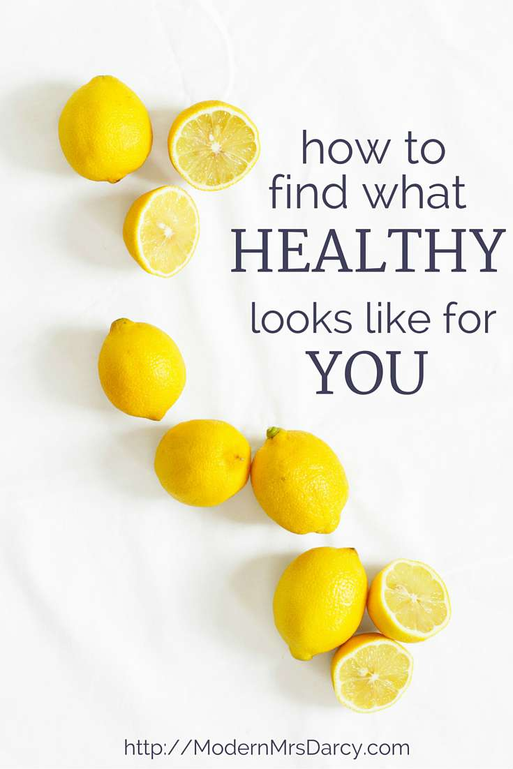 Some things are obviously unhealthy, but most of good health is subjective. What's perfectly healthy for one person might make you feel blah, and vice versa. Here's how to figure out what healthy looks like for YOU, and how to make healthy habits a part of your life, for good.
