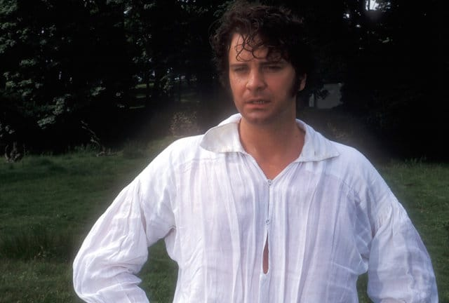 Mr Darcy lake scene