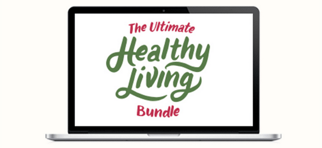 The Ultimate Healthy Living Bundle flash sale (two days only).
