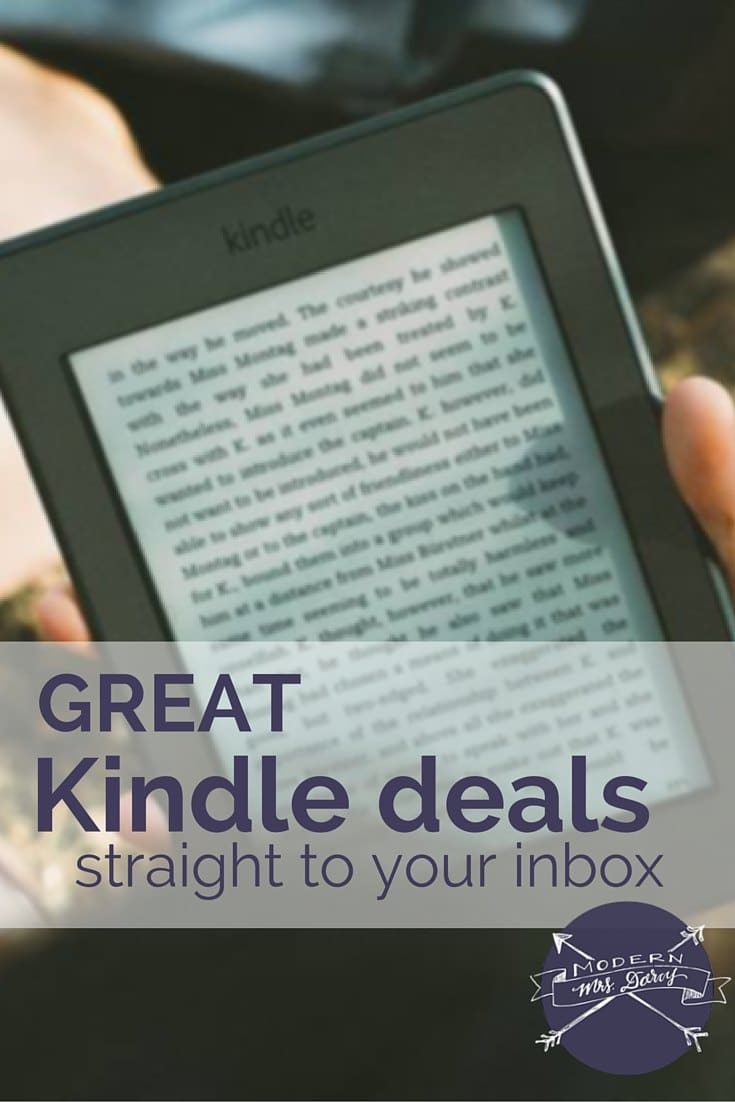 Get great Kindle deals delivered straight to your inbox.