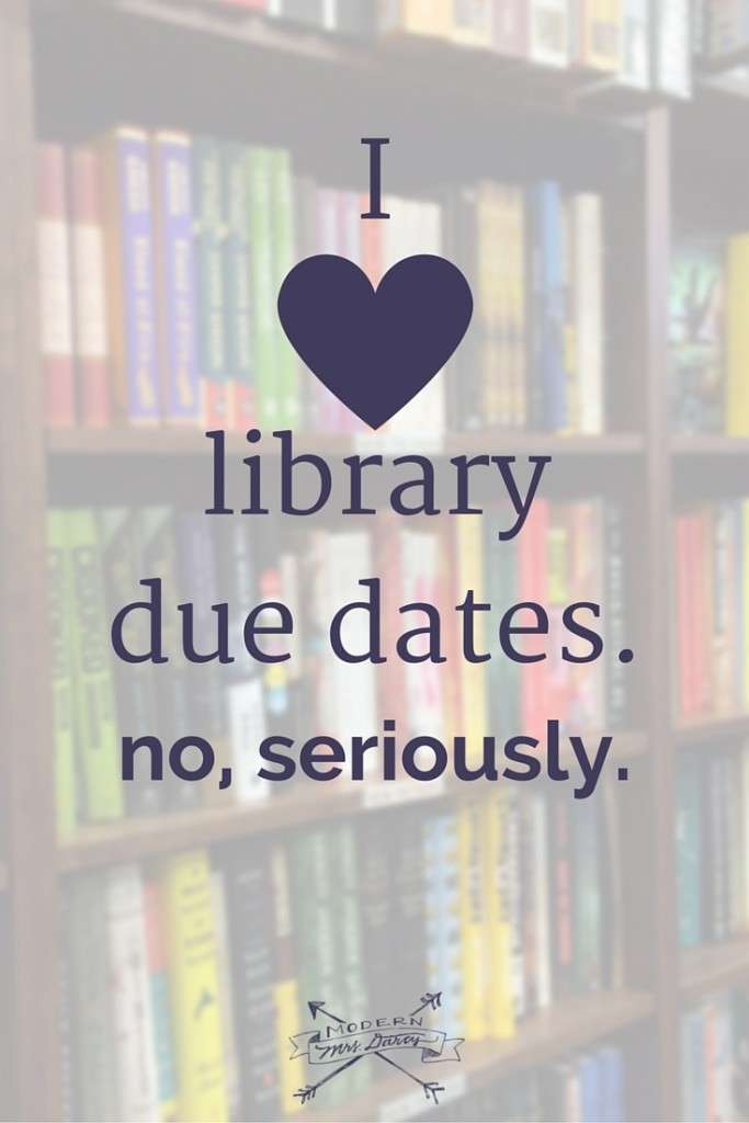 In praise of library due dates and bookish deadlines.