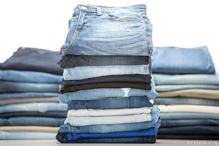 Stitch Fix denim stack